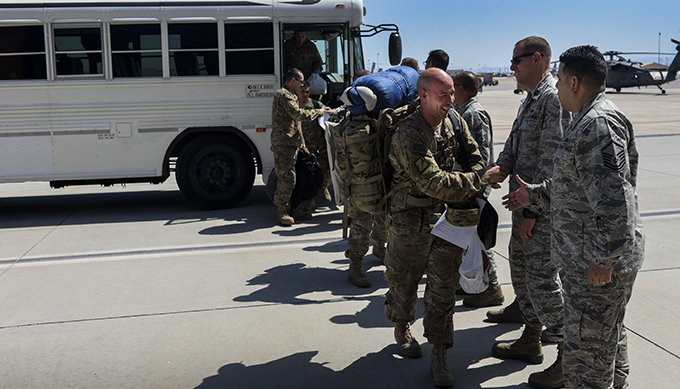 823rd MXS, 66th RQS return from deployment