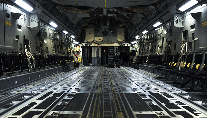 C-17 gains valuable training through integration at Red Flag 16-3