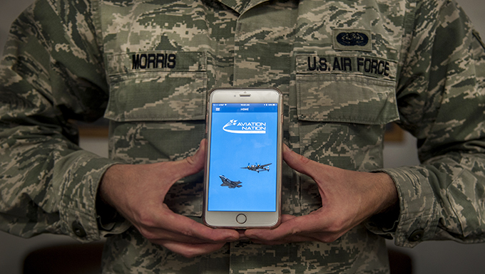 Aviation Nation app innovates interactive air show