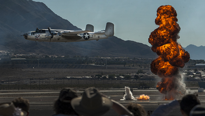 """Aviation Nation highlights """"75 Years of Airpower"""""""