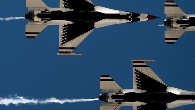 Thunderbirds perform in last show of the year